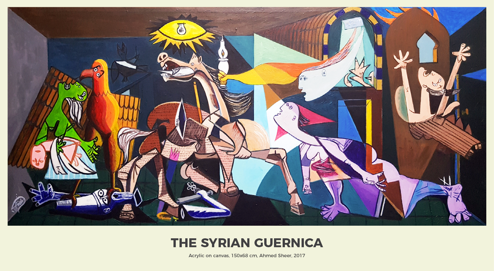 12- Syrian Guernica 2017